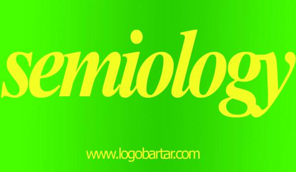 لوگو شناسی - semiology