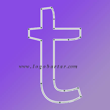 لوگو ساین - logo T