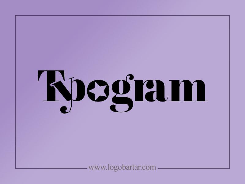 تایپوگرام - لوگو اسم